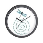 Witches law-rule of three Wall Clock