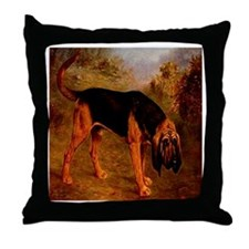 Bloodhound Lilian Cheviot 190 Throw Pillow