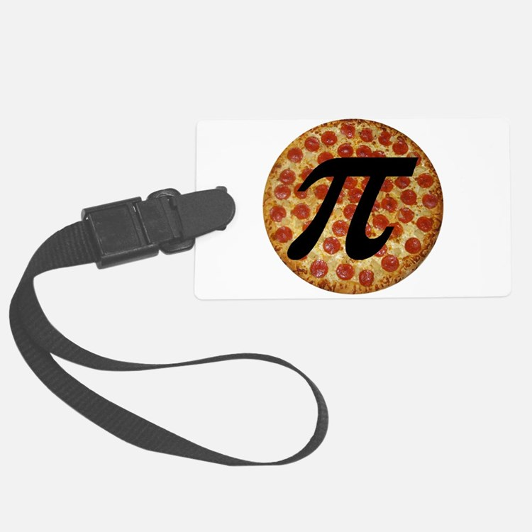 Pizza Pi Luggage Tag