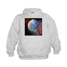 Supernova remnant IC 443, composite image - Hoodie