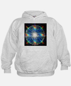 Optical fibres, special effects photo - Hoodie