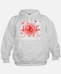 ECG and red blood cells - Hoodie