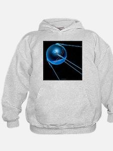 Sputnik 1 satellite - Hoodie