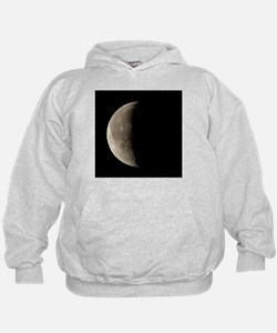 Waning crescent Moon - Hoodie