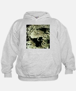 Apollo 11 image of craters on the Moon - Hoodie