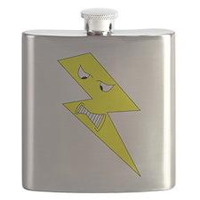 Angry Lightning. Flask