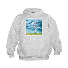 Tornado dynamics, artwork - Hoodie