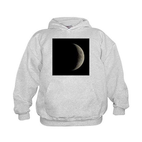 Waxing crescent Moon - Kids Hoodie