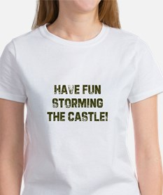 Have fun storming the castle! Tee