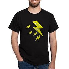 Lightning Cartoon. T-Shirt