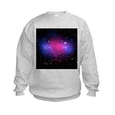 Galaxy cluster collision, X-ray image - Sweatshirt