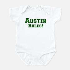 Austin Rules! Infant Bodysuit