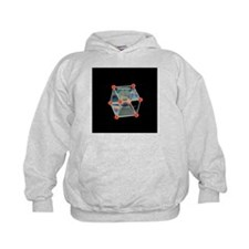 Soap bubbles on a cubic frame - Hoodie