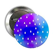 """Rain Drops. 2.25"""" Button"""