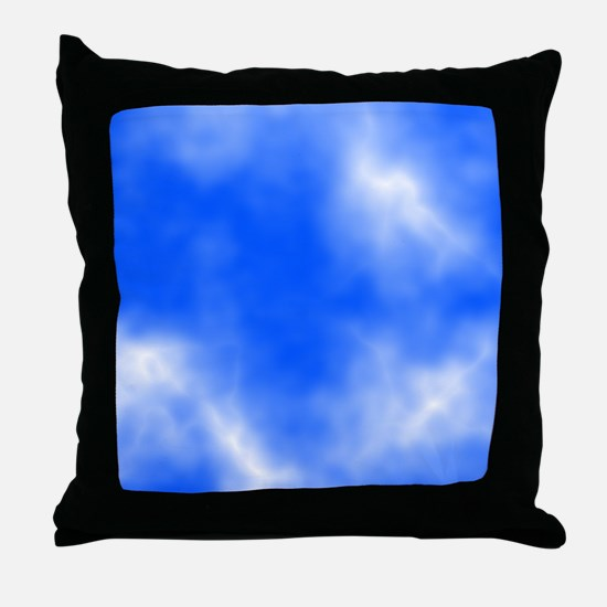 Blue Sky Picture. Throw Pillow