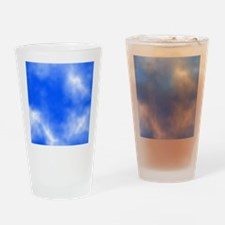 Blue Sky Picture. Drinking Glass