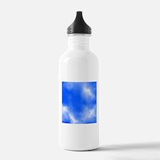 Blue Sky Picture. Water Bottle