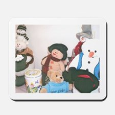 Volunteer Snowmen Two. Mousepad