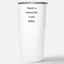 Not Coffee Thermos Mug