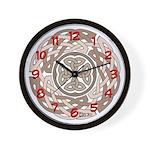 Celtic Beige Wall Clock