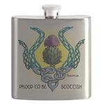 Scottish Thistle Flask