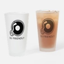 DJ Friendly Drinking Glass