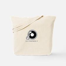 DJ Friendly Tote Bag
