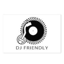 DJ Friendly Postcards (Package of 8)