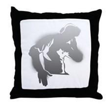DJ Guy Throw Pillow