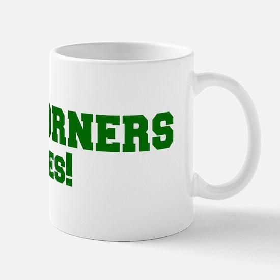 Four Corners Rules! Mug