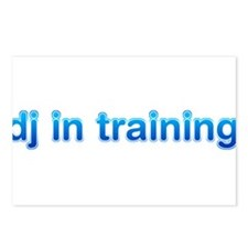 DJ in Training Postcards (Package of 8)