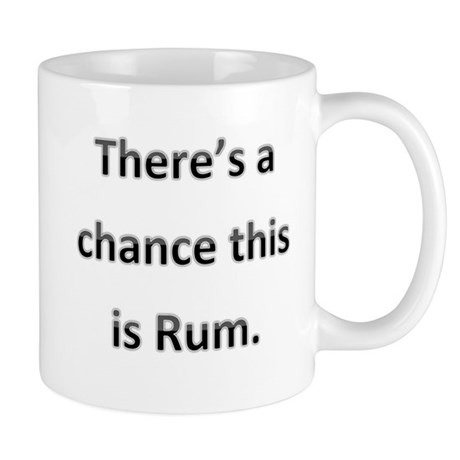 Theres a chance this is rum. Mug