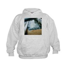 View of flotation waste water treatment - Hoodie