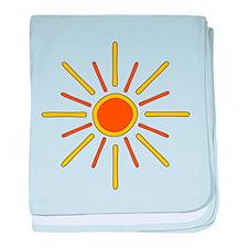 Sunshine. baby blanket