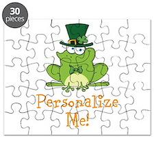 Leprechaun Frog Puzzle