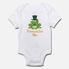 Leprechaun Frog Infant Bodysuit