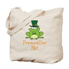 Leprechaun Frog Tote Bag