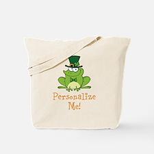 Leprechaun Frog Tote Bag