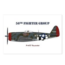 56th Fighter Group Postcards (Package of 8)