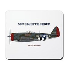 56th Fighter Group Mousepad