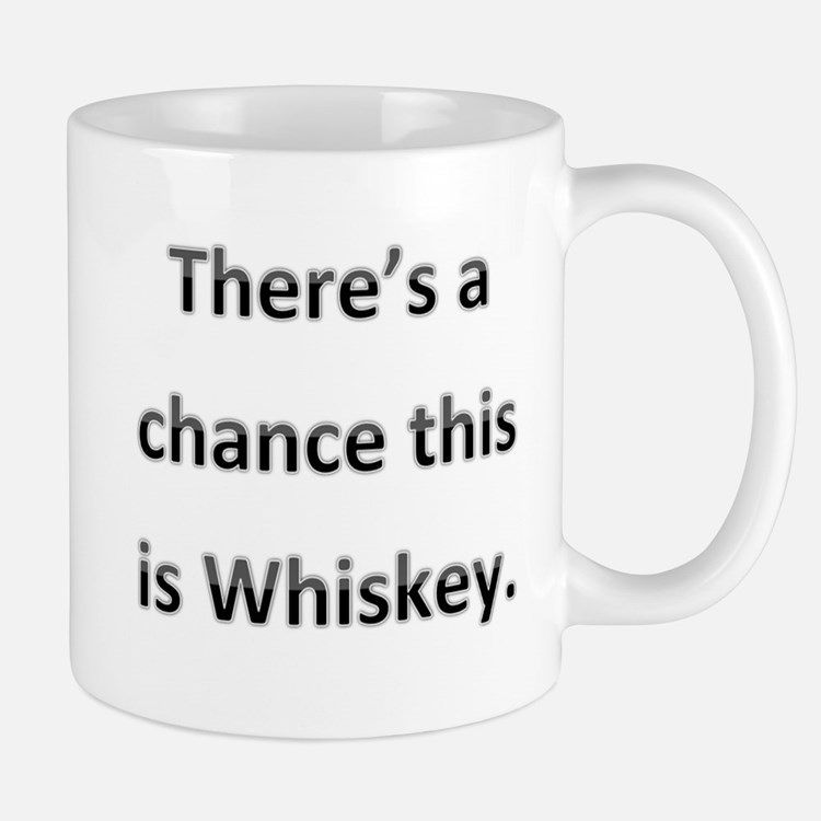 Theres a chance this is whiskey Mug