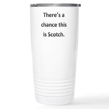 Scotch Stainless Steel Travel Mug