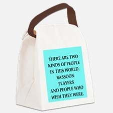 bassoon Canvas Lunch Bag