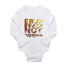 Drop Beats Not Bombs Expolsions Long Sleeve Infant