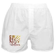 Drop Beats Not Bombs Expolsions Boxer Shorts