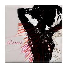 Alive! Tile Coaster