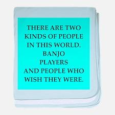 banjo baby blanket