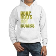 Drop Beats Not Bombs Gold Jumper Hoody