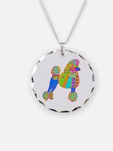 Pretty Poodle Design Necklace