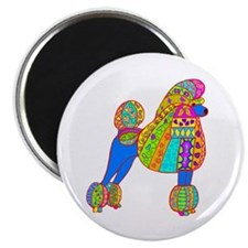 Pretty Poodle Design Magnet